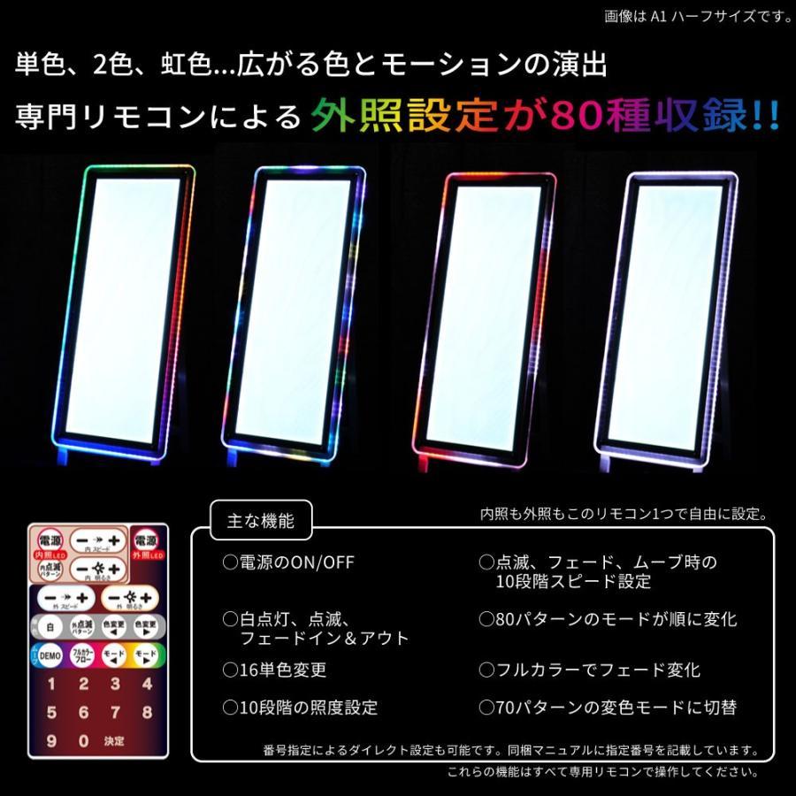 LEDパネル デジタルRGB A1ハーフ ポスターフレーム  送料無料 pascalstore 07