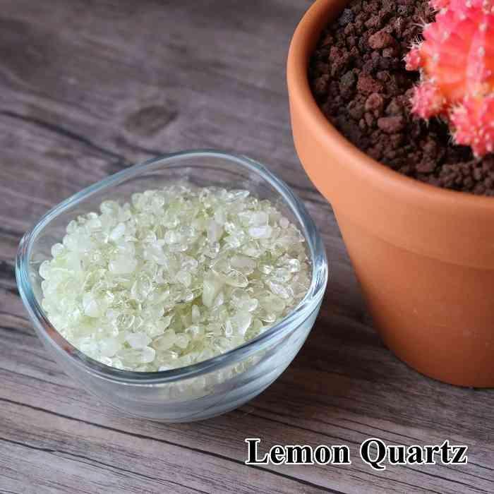 レモンクォーツ 100グラム 浄化 インテリア 天然石 発売モデル オルゴナイト パワーストーン オンラインショッピング