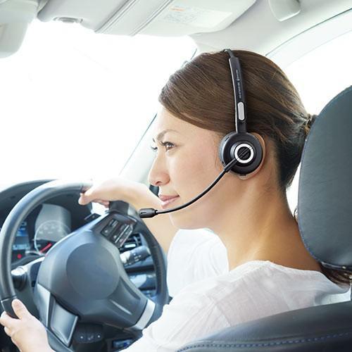 コールセンター向けBluetoothヘッドセット モノラル 片耳 充電台付 スタンド付属|paso-parts|14