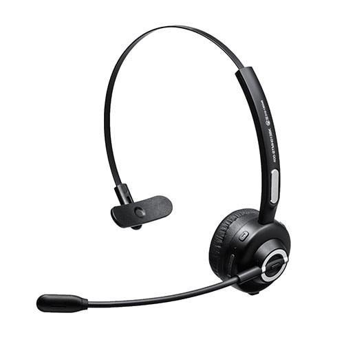 コールセンター向けBluetoothヘッドセット モノラル 片耳 充電台付 スタンド付属 paso-parts 18