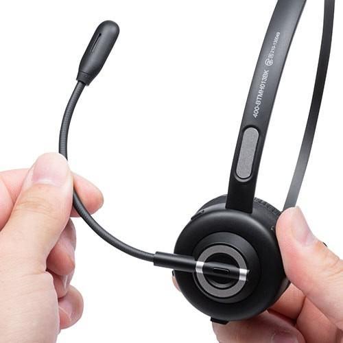 コールセンター向けBluetoothヘッドセット モノラル 片耳 充電台付 スタンド付属 paso-parts 21