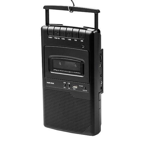カセット変換プレーヤー カセットテープ カセットプレーヤー USB保存 デジタル保存 簡単操作 乾電池 AC電源|paso-parts|16