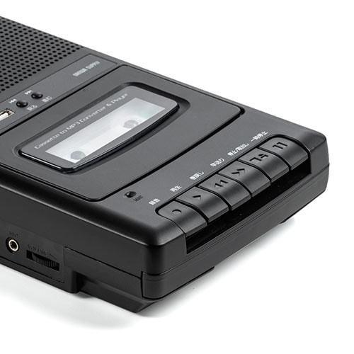 カセット変換プレーヤー カセットテープ カセットプレーヤー USB保存 デジタル保存 簡単操作 乾電池 AC電源|paso-parts|18