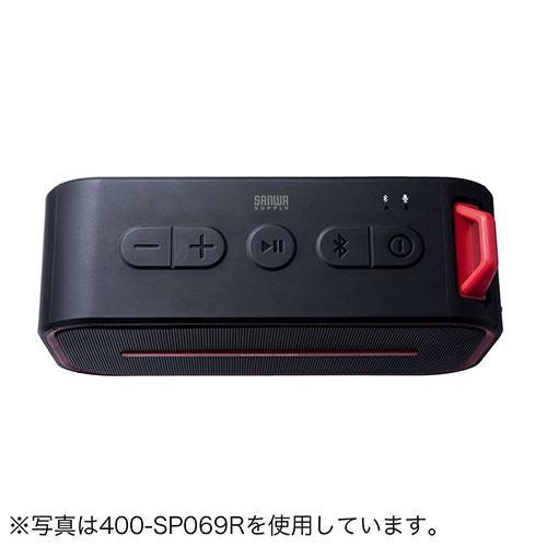 Bluetoothスピーカー ポータブル 防水&防塵対応 Bluetooth4.2 microSD対応 6W ブラック paso-parts 12