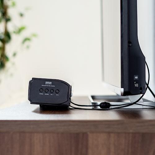 サウンドバースピーカー テレビ Bluetooth サブウーハー搭載 2.1chサウンドバー 60W|paso-parts|14