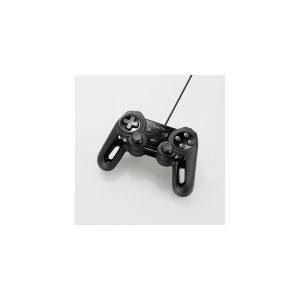 あすつく 特売 セットアップ エレコム JC-U4013SBK 超高性能有線ゲームパッド