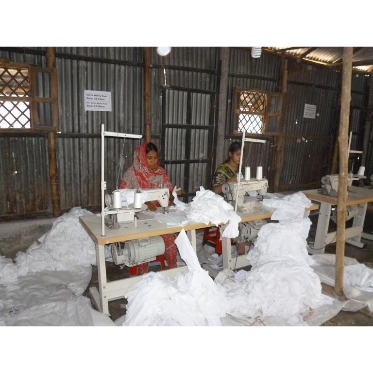特選 白ウエス 1kg (縫製約40×40cm) 綿100% 当社オリジナル商品【送料無料!】バングラデシュ製|passion-work|04