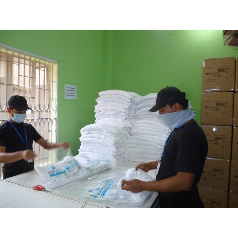 特選 白ウエス 1kg (縫製約40×40cm) 綿100% 当社オリジナル商品【送料無料!】バングラデシュ製|passion-work|05