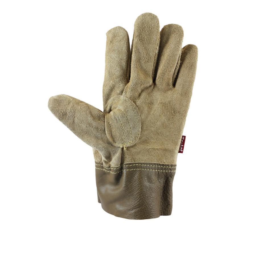 革手袋 内綿 コーティング牛皮革使用 M〜LLサイズ カラーは選択できません!作業手袋【送料無料!メール便対応となります】#902|passion-work|04