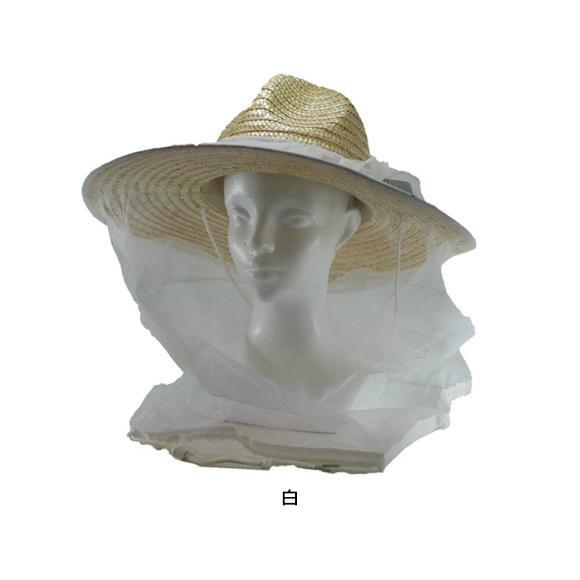 虫よけネット 帽子に被せるだけで簡単着用できます 【送料無料!メール便対応となります】BT-100 passion-work 03