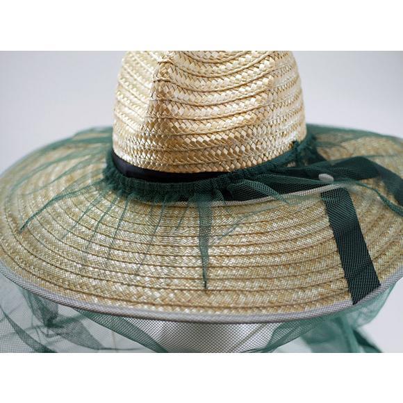 虫よけネット 帽子に被せるだけで簡単着用できます 【送料無料!メール便対応となります】BT-100 passion-work 05