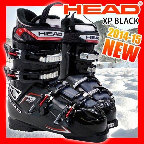 ヘッド スキーブーツ HEAD XP ブラック メンズ 25.0/26.0/27.0/28.0/29.0