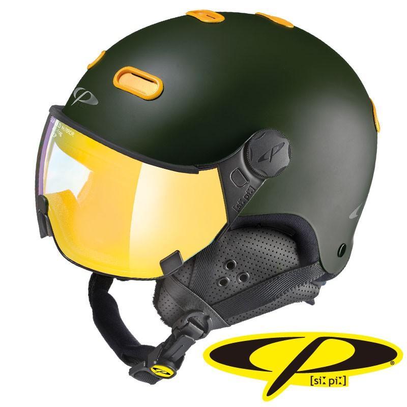 P シーピー スノーヘルメット CARACHILLO VCM CPC1924 ヴルカーノ × メイズ
