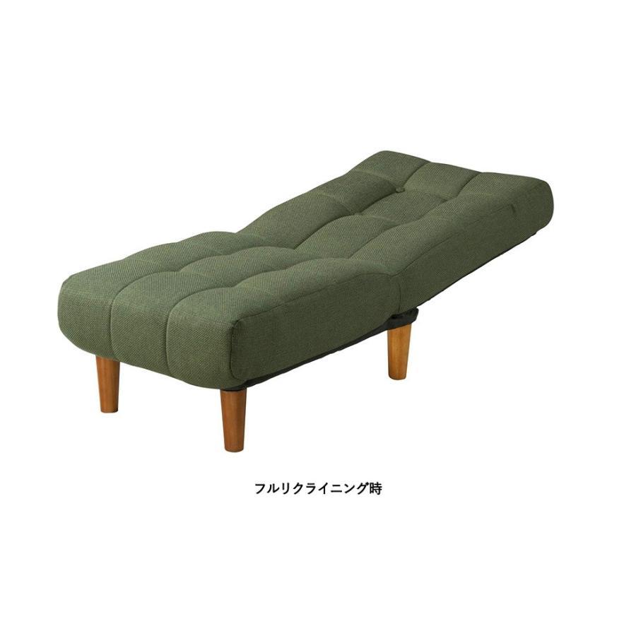 フロアソファ【モコ MOCO】 一人掛け 座椅子 へたりにくい ボリューム座椅子 ポケットコイル リクライニングチェア 足つき座椅子【AZ】|patie|10