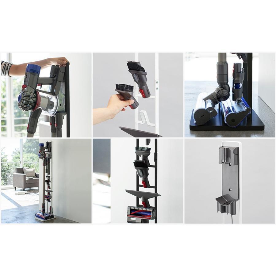 tower コードレスクリーナースタンド / タワー 直送 送料無料 シンプル 掃除機 収納 ラック|patie|02
