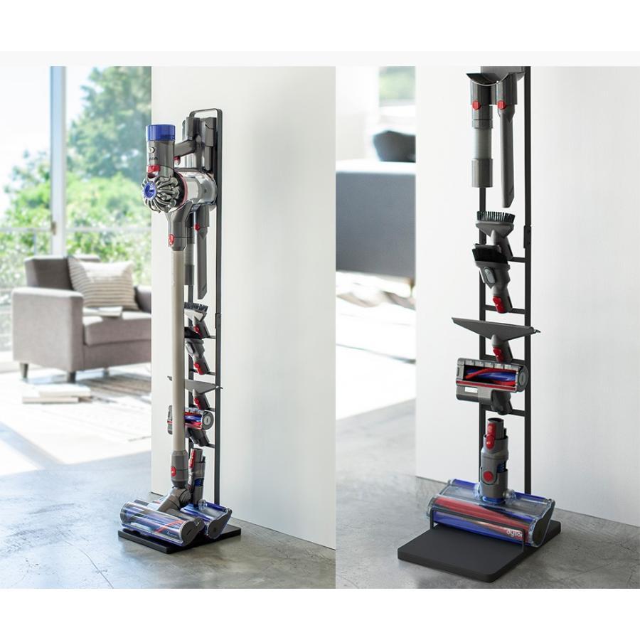 tower コードレスクリーナースタンド / タワー 直送 送料無料 シンプル 掃除機 収納 ラック|patie|04