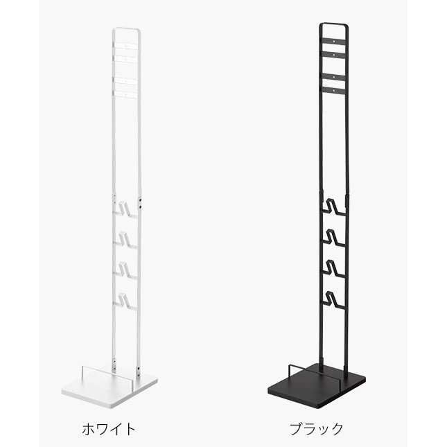 tower コードレスクリーナースタンド / タワー 直送 送料無料 シンプル 掃除機 収納 ラック|patie|09
