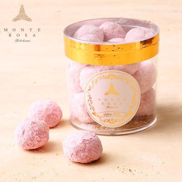 ブール・ド・ルージュ      円筒ギフト 手土産に最適 手作りクッキー ベリーの香り patisserie-monterosa