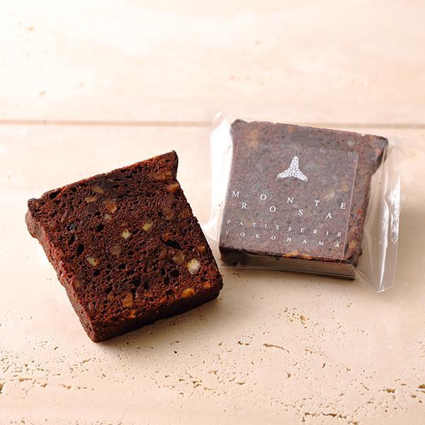 ケーク・オ・ ショコラオランジュ フランス ヴァローナ社のチョコレートを使用したオレンジ風味のケーク patisserie-monterosa