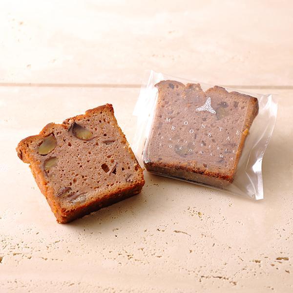 ケーク・オ・マロン   フランス産マロンペーストを使用したコクのある濃厚な味わいのケーク|patisserie-monterosa