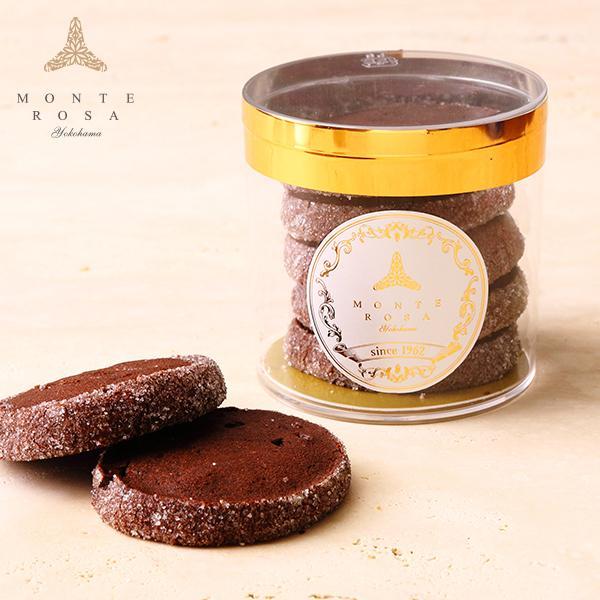 サブレ ショコラ      円筒ギフト 手土産に最適 手作りクッキー  ショコラの濃厚な味わい|patisserie-monterosa