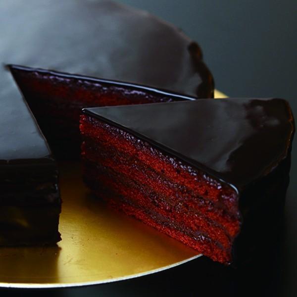 グラサージュショコラ【ショップ移動しました】 芳醇なカカオ香る 最高級チョコレート使用  急速冷凍(5号/直径約15cm)焼き上げ後 美味しさを閉じ込めて|patisserie-monterosa