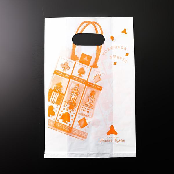 横浜モンテローザ 乳白袋(小) h340×w220 patisserie-monterosa