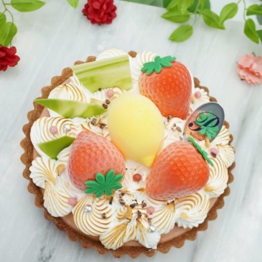 いちごとレモンのゆるふわタルト スイーツ ケーキ プレゼント お取り寄せ 記念日 誕生日 |patisseriecalme