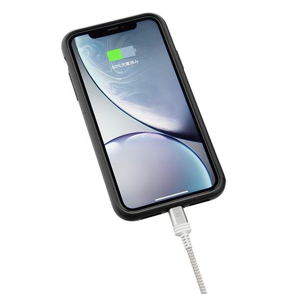 アウトレット SoftBank SELECTION USB Type-C Tough Cable with Lightning Connector / シルバー|paypaystore|03