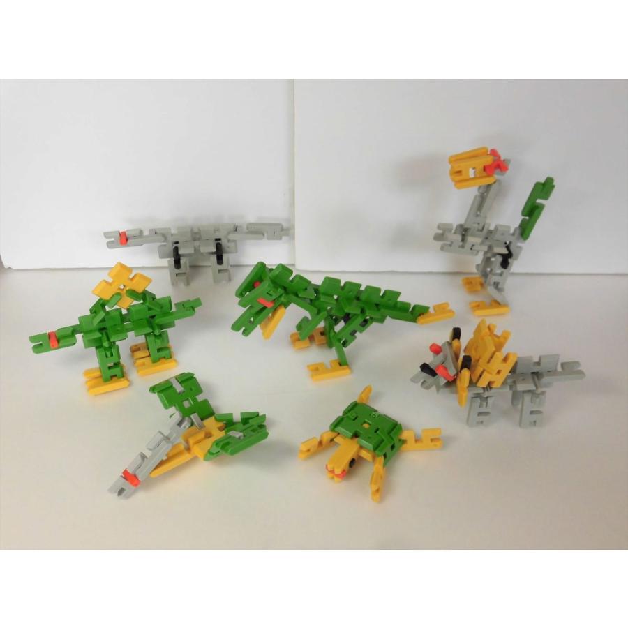 ピーブロック「コンテナセット300」知育玩具 教材 組み立て 創造力  300ピース 10色 多種 共同遊び pblock 16