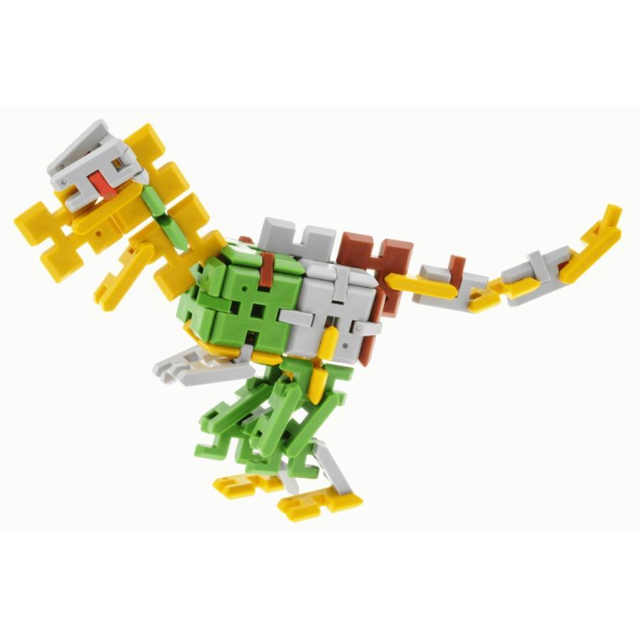 ピーブロック「コンテナセット300」知育玩具 教材 組み立て 創造力  300ピース 10色 多種 共同遊び pblock 05