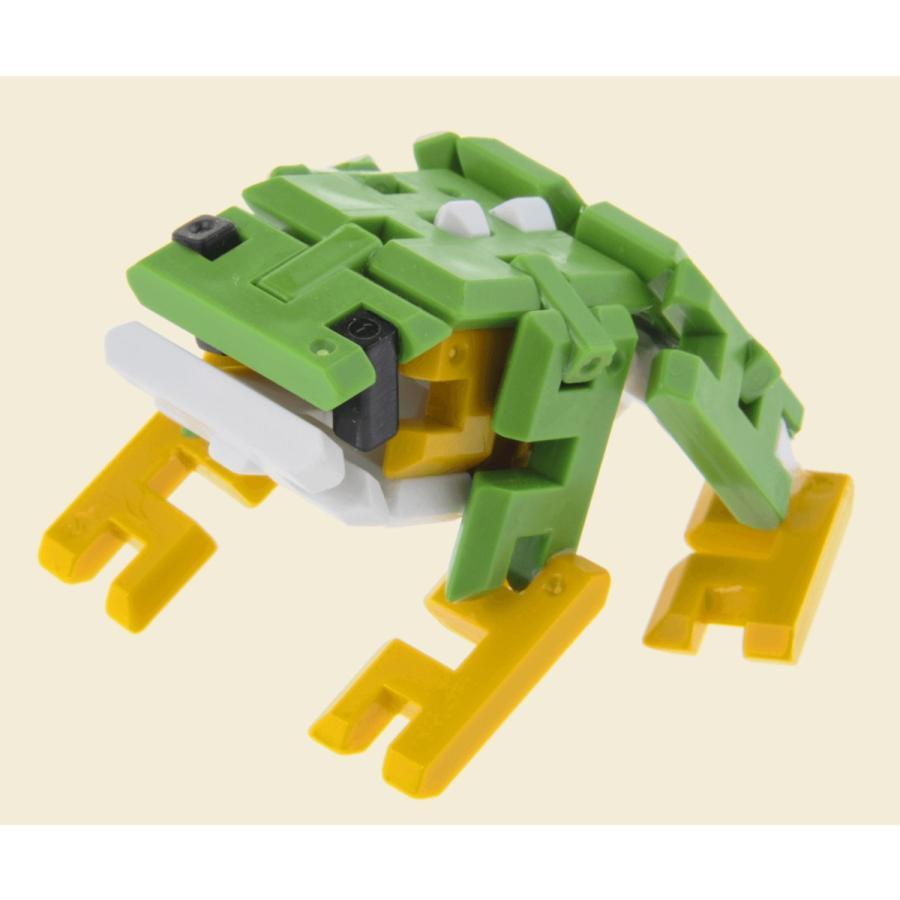 ピーブロック「コンテナセット300」知育玩具 教材 組み立て 創造力  300ピース 10色 多種 共同遊び pblock 07