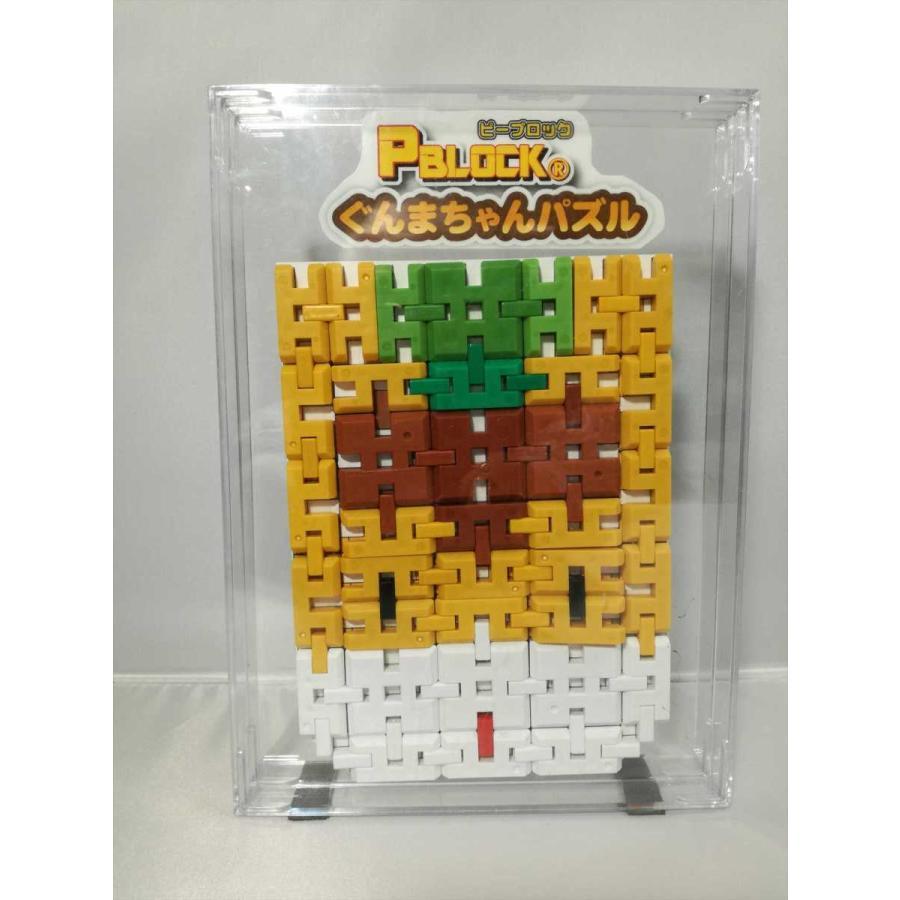 ピーブロック「ぐんまちゃんパズル」マスコット 公認 平面と立体|pblock|03