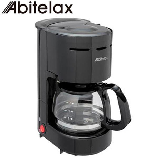 アビテラックス ドリップ式 コーヒーメーカー カップ約4杯 最大容量0.65L ガラス容器 ACD-36-K ブラック ACD36-K Abitelax|pc-akindo-y