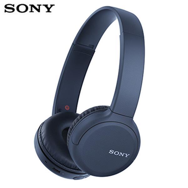 SONY ワイヤレス ヘッドホン Bluetooth5.0 クイック充電対応 WH-CH510-L ブルー ワイヤレスステレオヘッドセット ヘッドフォン|pc-akindo-y