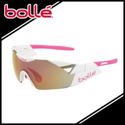 bolle ボレー サングラス 6th Sense S Shiny 白い ピンク/Rose ゴールド Mirror (TNS) シックスセンス エス スポーツ 6thSenseS11913