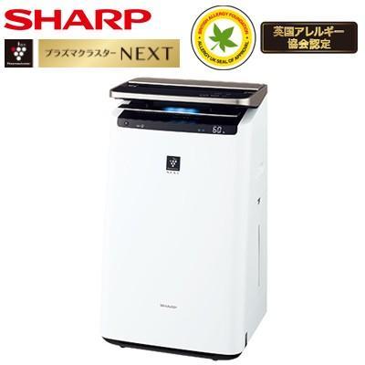 シャープ 加湿空気清浄機 プラズマクラスターNEXT搭載 空清·46畳 加湿·26畳 COCORO AIR搭載 KI-LP100-W ホワイト系