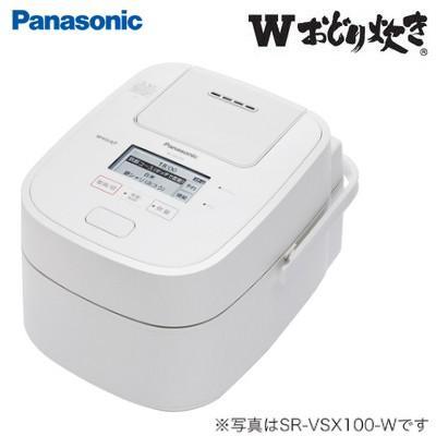 パナソニック 1升炊き スチーム&可変圧力IHジャー炊飯器 Wおどり炊き SR-CVSX180-W ホワイト