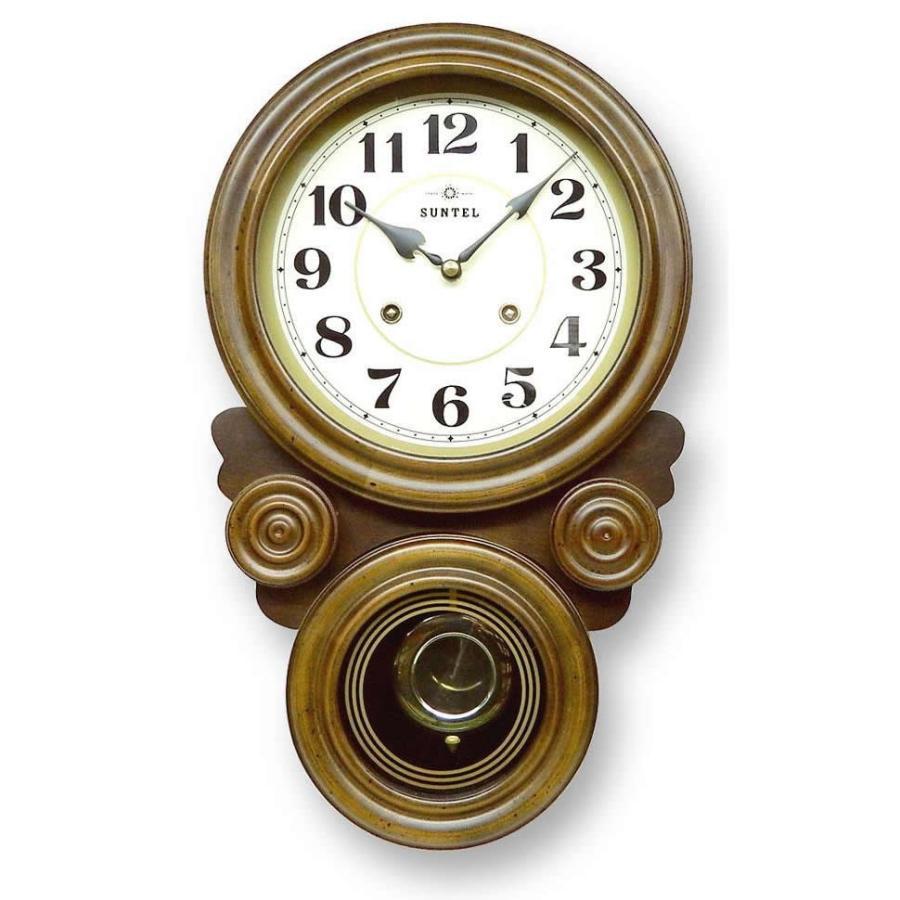 ボンボン振り子だるま時計(アラビア文字) QL687プレゼント 職人 木製