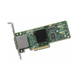 【在庫目安:お取り寄せ】 キングテック LSI SAS 9200-8e SGL LSI00188 / LSI PCIEx8(Gen2.0) SATA/ SAS 6Gb/ s 外部8ポートHBA