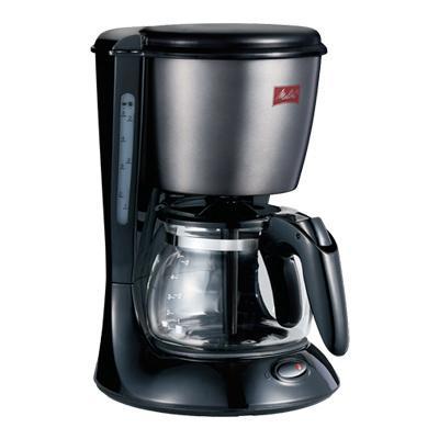 【在庫目安:お取り寄せ】 メリタジャパン SCG583B コーヒーメーカー (ツイスト) ブラック 5杯用|pc-express