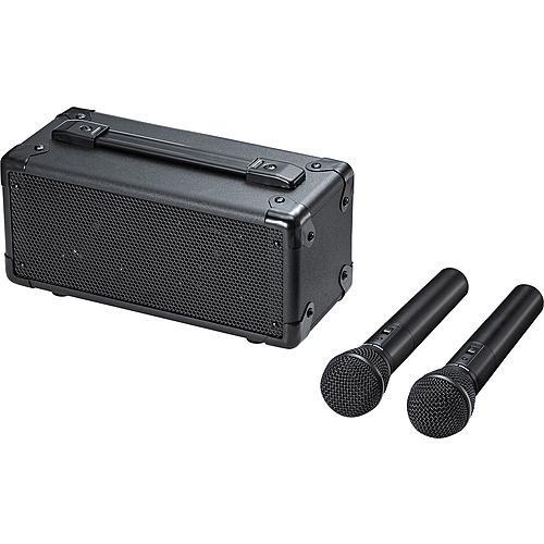【在庫目安:お取り寄せ】サンワサプライ MM-SPAMP7 ワイヤレスマイク付き拡声器スピーカー