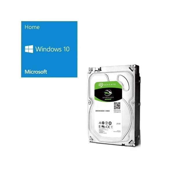 セット商品 Windows 10 Home 64Bit DSP バンドルセット 激安超特価 いよいよ人気ブランド ST4000DM004 SEAGATE +