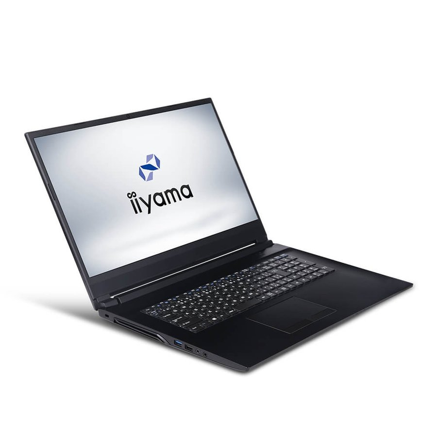 [Office Personal]iiyama STYLE∞ ノートPC STYLE-17FH055-i7-UHSXM [17.3型フルHD/Windows 10 Home/Core i7-9750H/8GB メモリ/250GB M.2 SSD]