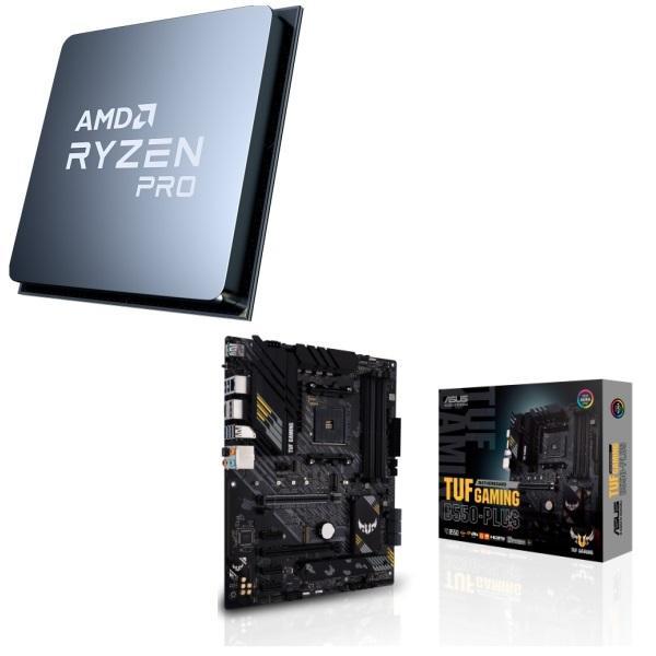 [パーツセット] AMD Ryzen 3 PRO 4350G + ASUS TUF GAMING B550-PLUS 2点セット!