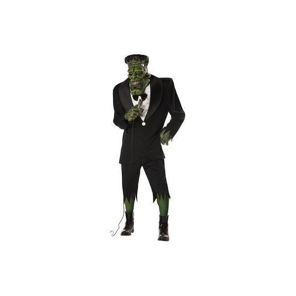 コスプレ衣装/コスチューム California Costumes BIG FRANK / ADULT 〔ジャケット・パンツ・肩パッド・ソックス・マスク・腕パーツ〕