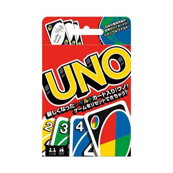 (まとめ)マテル・インターナショナル ウノ カードゲーム ノーマル〔×5セット〕