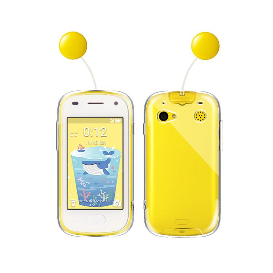 キッズフォン2 ソフトケース TPU保護ケース カバー Kids phone 2 透明 クリア TPU 素材 背面カバー 超軽量 耐衝撃 落下防止 pcastore 02