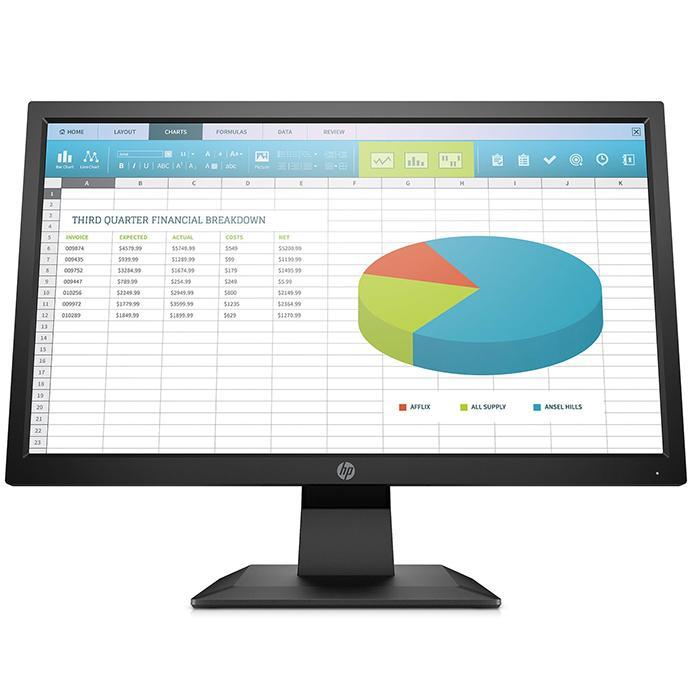 HP ProDisplay 20インチワイドLED液晶モニタ P202 1600x900 VGA DP接続 ノングレア 中古ディスプレイ|pcmax