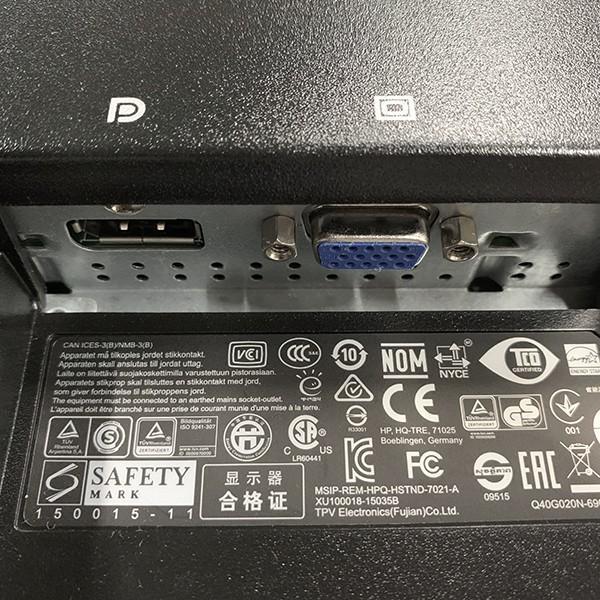 HP ProDisplay 20インチワイドLED液晶モニタ P202 1600x900 VGA DP接続 ノングレア 中古ディスプレイ|pcmax|03